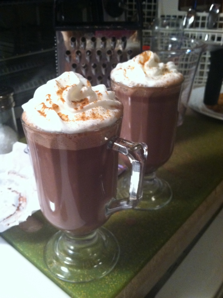 Stone ground Mexican hot chocolate