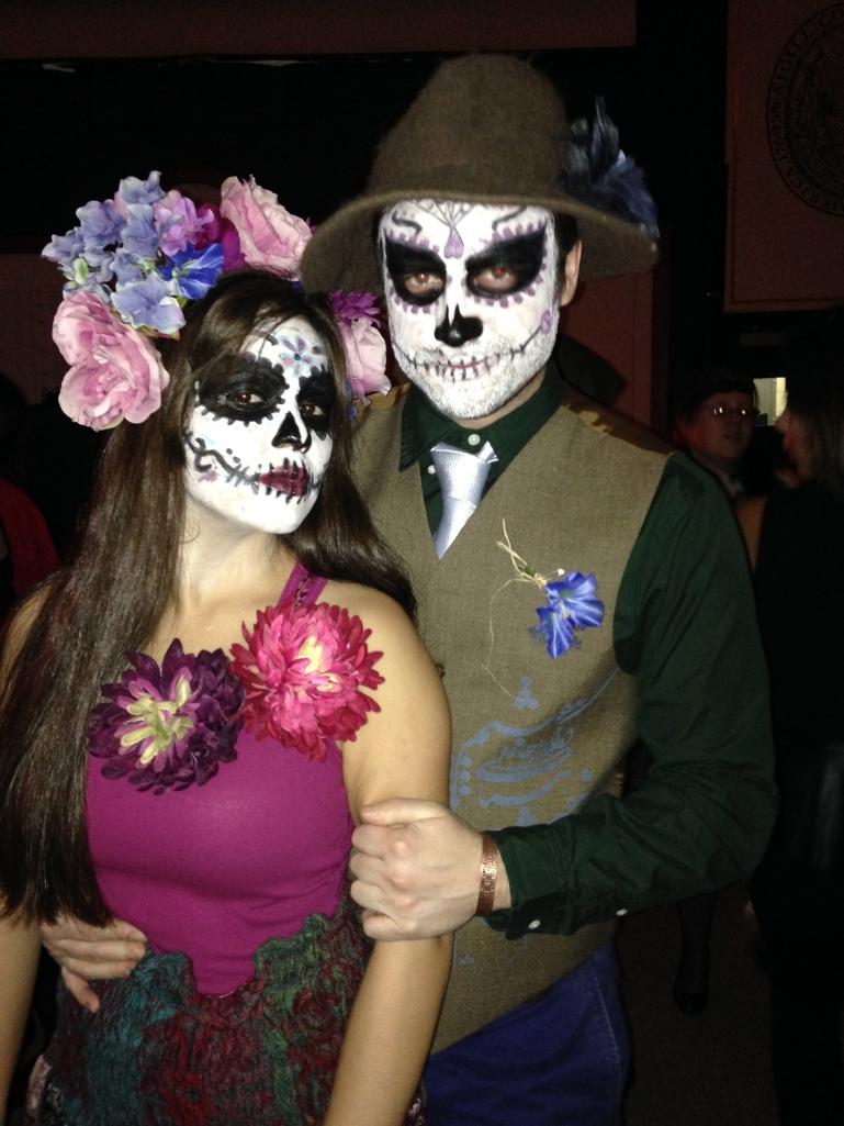 the happy, dead couple.