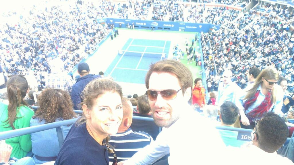 September: I got to go to the US Open Final! I was also fake-proposed to (almost) and ate a lot of amazing food in NYC (Thanks a million to Nik)
