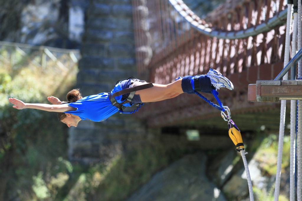 This is not it. But it IS the first bungy jump location established in the world.