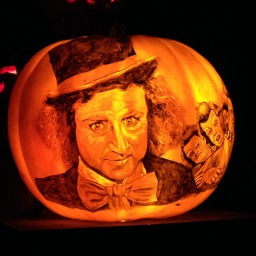The Coolest Pumpkin Display You'll Ever See