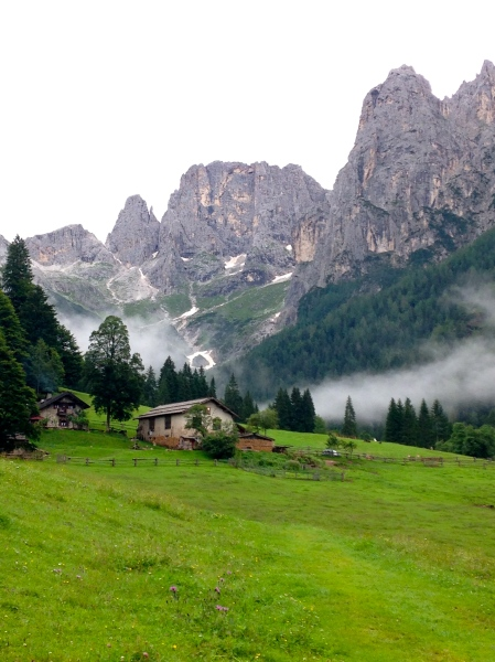 THESE are the Dolomites! (dibs on that house)