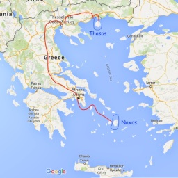 Arrival to Thassos (Part 1)