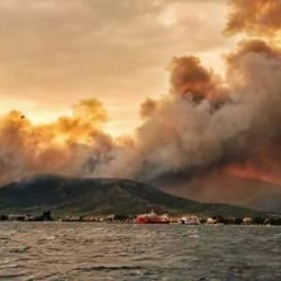 Thassos in Flames